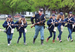 Civil War Living History 7th Grade 2015